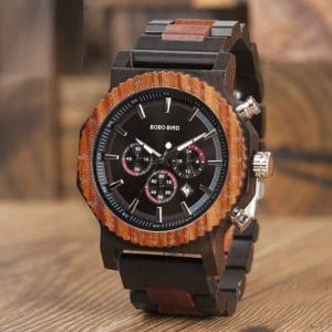 Crusade Wooden Watch
