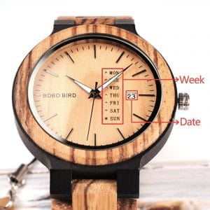 Crux Wooden Watch