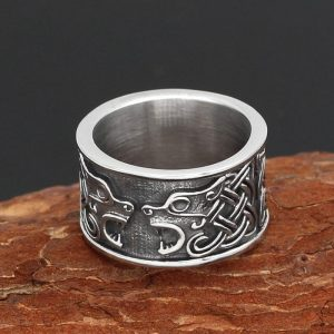Celtic Bear Ring
