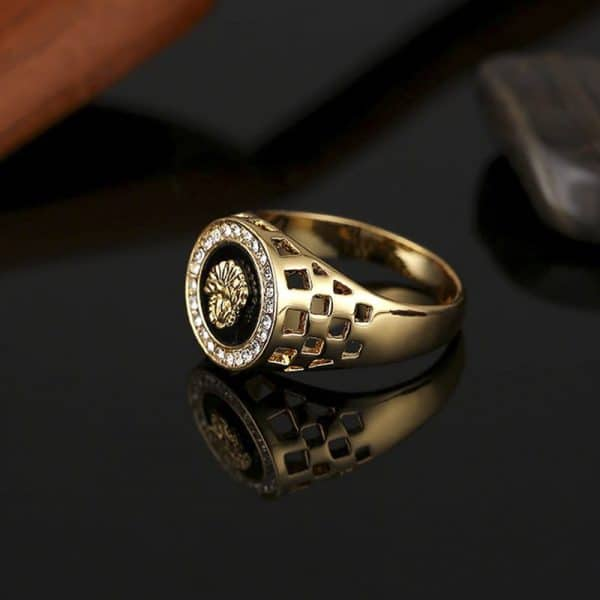 Lord Lion Stone Ring