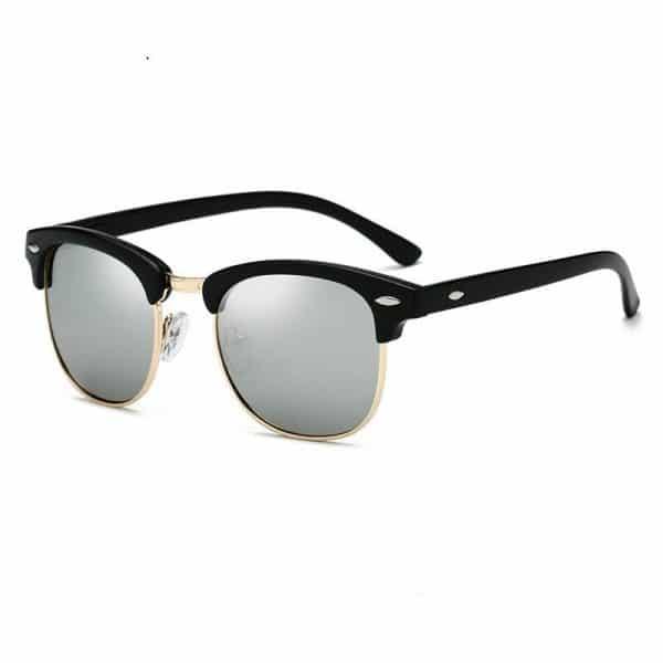 Giorno Classic - Polarized Semi Rimless Sunglasses