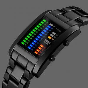 Binary Futuristic Watch